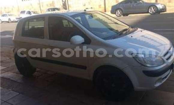 Buy Used Hyundai Getz Silver Car in Mokhotlong in Berea