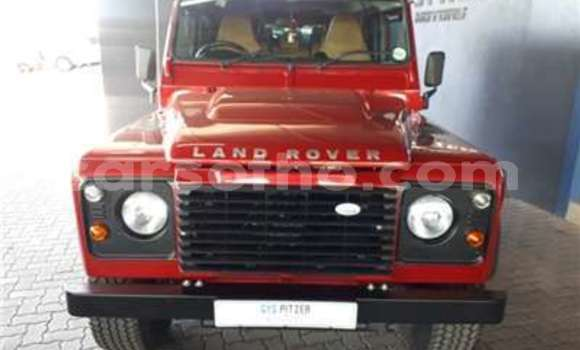 Buy Used Land Rover Defender Red Car in Butha Buthe in Butha-Buthe