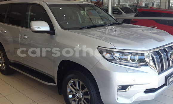 Buy Used Toyota Land Cruiser Prado Silver Car in Maseru in Maseru