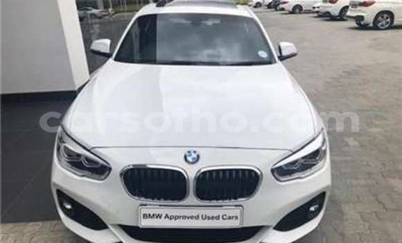 Buy Used BMW 1–Series White Car in Butha Buthe in Butha-Buthe