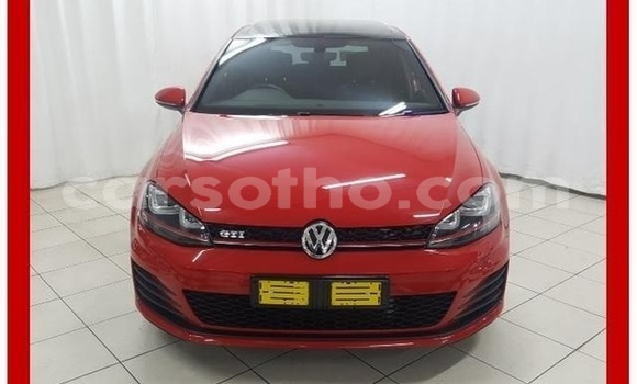 Buy Used Volkswagen Golf Red Car in Butha Buthe in Butha-Buthe