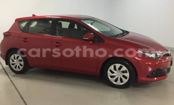 Buy Used Toyota Corolla Red Car in Butha Buthe in Butha-Buthe