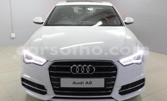 Buy Used Audi A6 White Car in Roma in Maseru