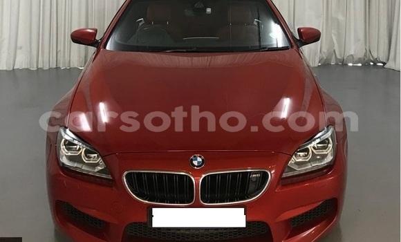 Buy Used BMW M6 Red Car in Roma in Maseru