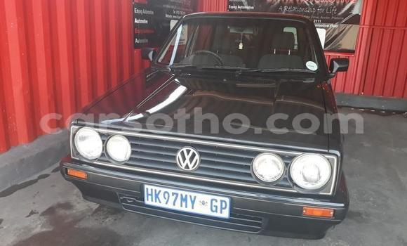Buy Used Volkswagen Golf Black Car in Roma in Maseru