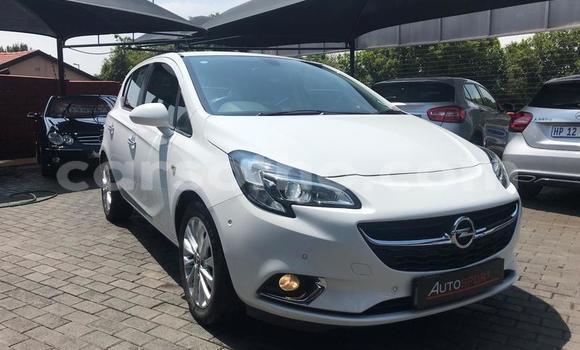 Buy Used Opel Corsa White Car in Roma in Maseru