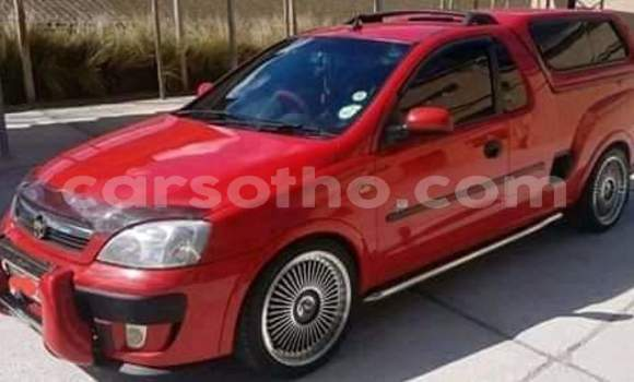Buy Used Chevrolet Corsa Red Car in Thaba–Tseka in Mafeteng