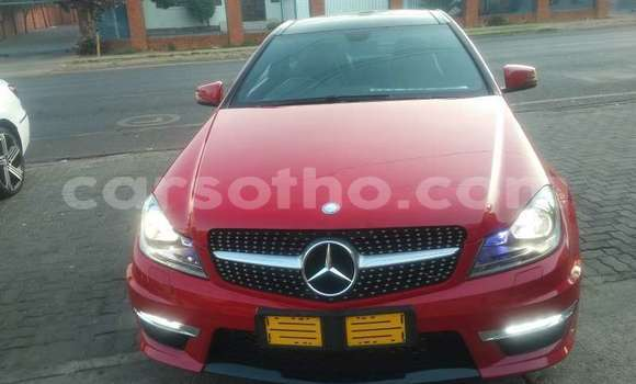 Buy Used Mercedes‒Benz C–Class Red Car in Peka in Leribe