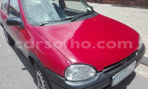 Buy Used Opel Corsa Red Car in Butha Buthe in Butha-Buthe