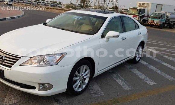 Buy Import Lexus ES White Car in Import - Dubai in Maseru