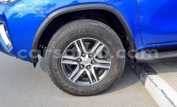 Buy Import Toyota Fortuner Blue Car in Import - Dubai in Maseru