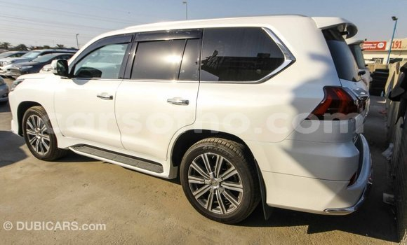 Buy Import Lexus LX White Car in Import - Dubai in Maseru