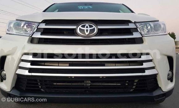 Buy Import Toyota Highlander White Car in Import - Dubai in Maseru