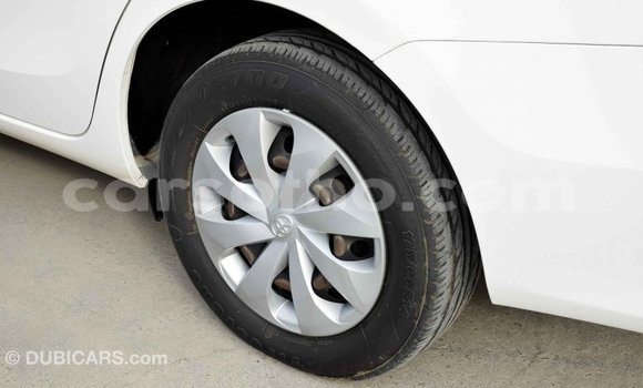 Buy Import Toyota Yaris White Car in Import - Dubai in Maseru