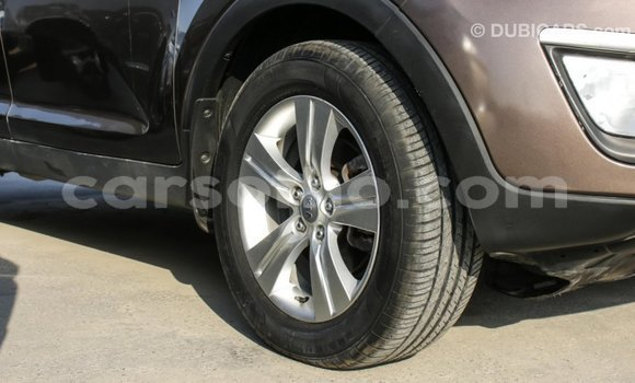 Buy Import Kia Sportage Brown Car in Import - Dubai in Maseru