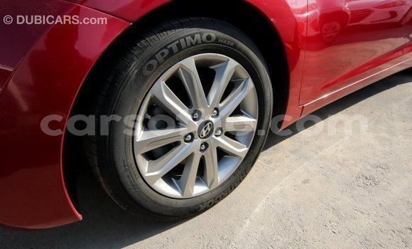Buy Import Hyundai Elantra Red Car in Import - Dubai in Maseru