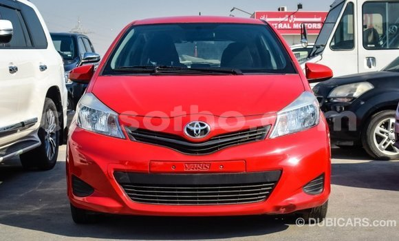 Buy Import Toyota Yaris Red Car in Import - Dubai in Maseru