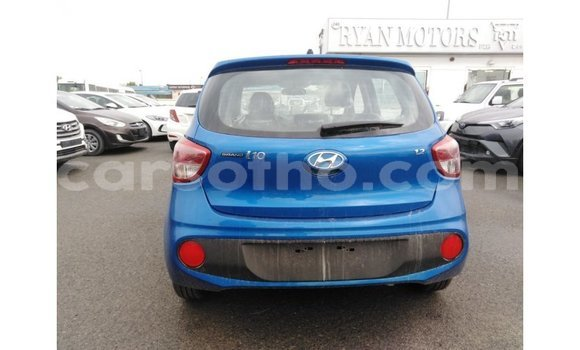 Buy Import Hyundai i10 Blue Car in Import - Dubai in Maseru