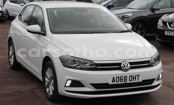 Buy Used Volkswagen Polo White Car in Teyateyaneng in Berea