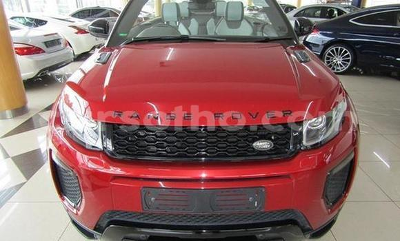 Buy Used Land Rover Range Rover Evoque Red Car in Butha–Buthe in Thaba-Tseka