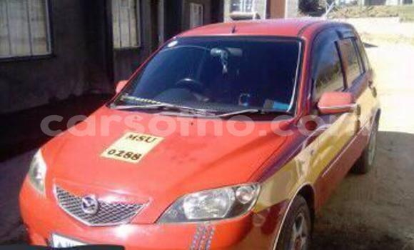 Buy Used Mazda Demio Red Car in Maseru in Maseru