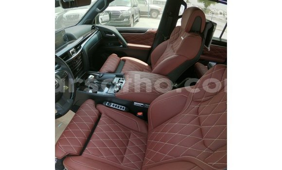 Buy Import Lexus LX Black Car in Import - Dubai in Maseru