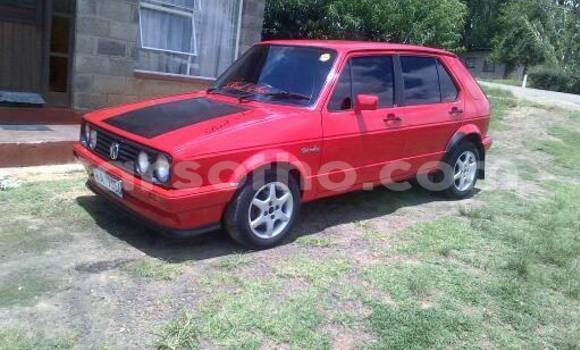 Buy Used Volkswagen Golf Red Car in Maseru in Maseru