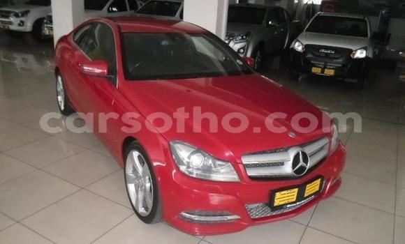 Buy Used Mercedes-Benz C–Class Red Car in Maseru in Maseru