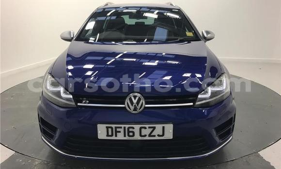 Buy Used Volkswagen Golf Blue Car in Peka in Leribe