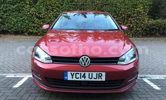 Buy Used Volkswagen Golf Red Car in Qacha's Nek in Quthing