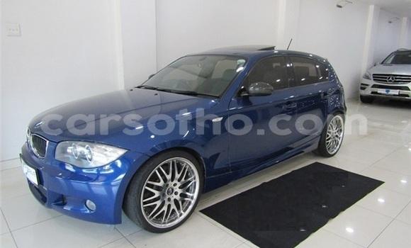 Buy Used BMW 1–Series Blue Car in Maseru in Maseru