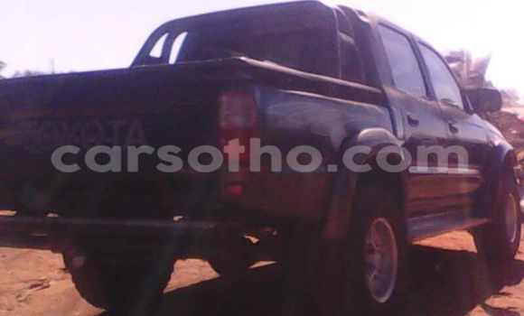 Buy Used Toyota Hilux Black Car in Maseru in Maseru