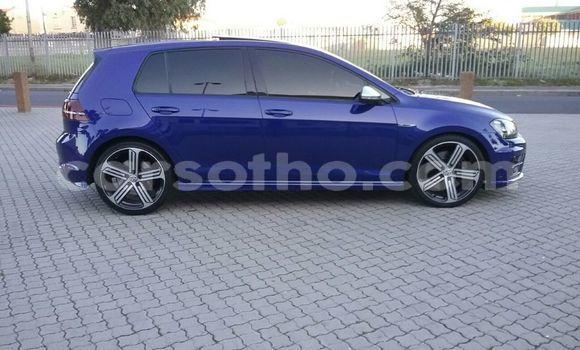 buy used volkswagen golf blue car in maseru in maseru. Black Bedroom Furniture Sets. Home Design Ideas