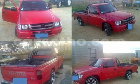 Buy Used Toyota Hilux Red Car in Maseru in Maseru