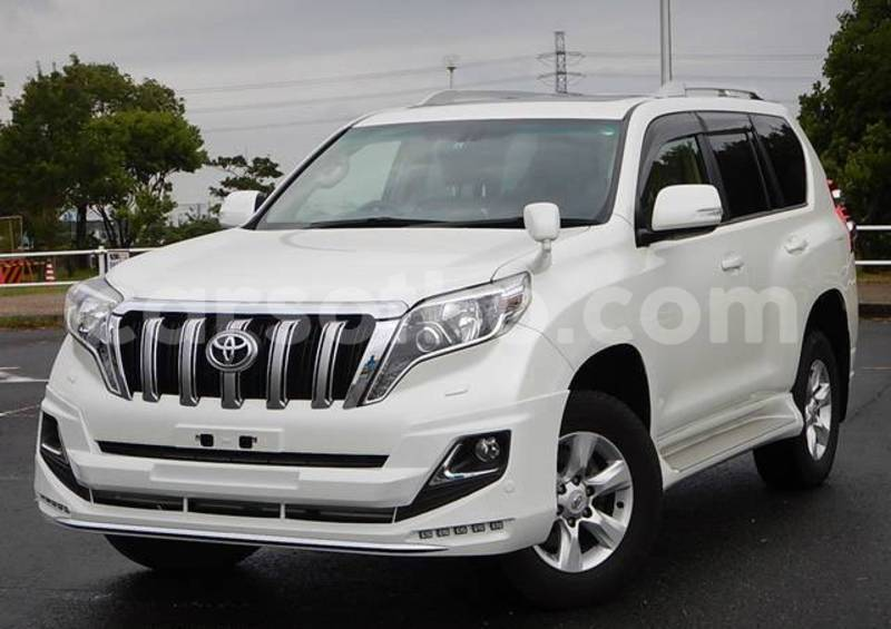 Buy Used Toyota Land Cruiser Prado White Car In Maseru In