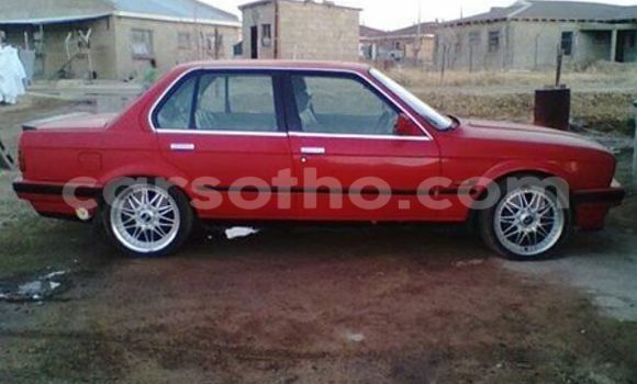 Buy Used BMW 3-Series Red Car in Maseru in Maseru