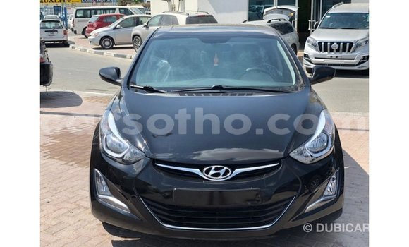 Buy Import Hyundai Elantra Black Car in Import - Dubai in Maseru