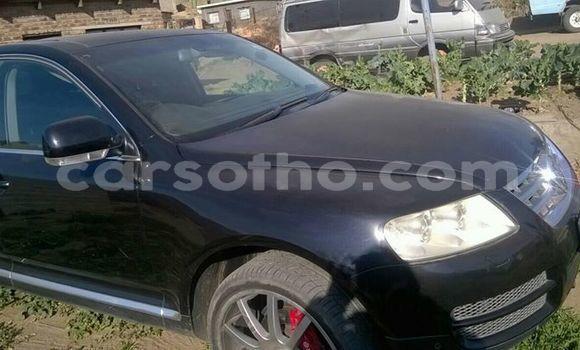 Acheter Occasion Voiture Volkswagen Touareg Noir à Maseru au Maseru