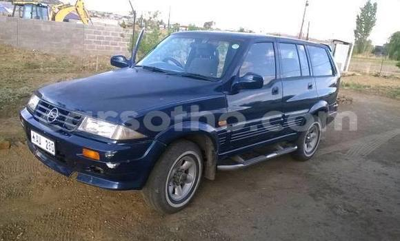 Buy Used SsangYong Musso Blue Car in Maseru in Maseru