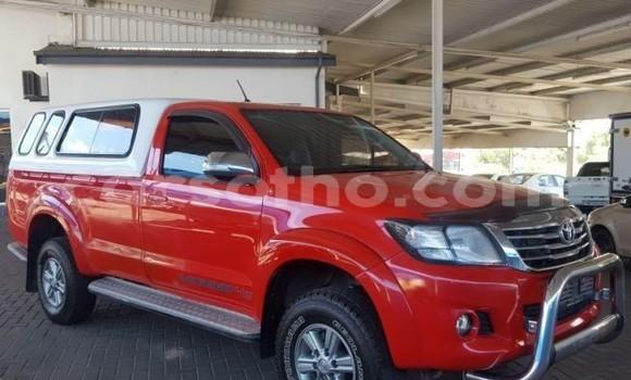 Buy Used Toyota Hilux Red Car in Maseru in Maseru