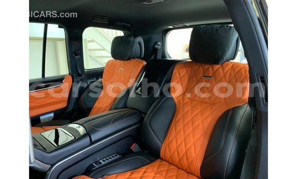 Buy Import Lexus LX Black Car in Import - Dubai in Maseru