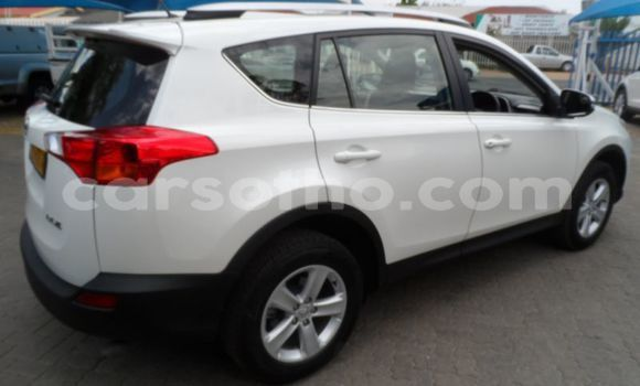 Buy Import Toyota RAV4 White Car in Import - Dubai in Maseru