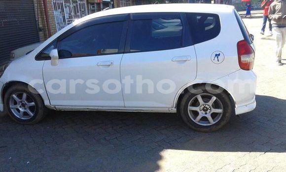 Buy Used Honda FIT White Car in Maseru in Maseru
