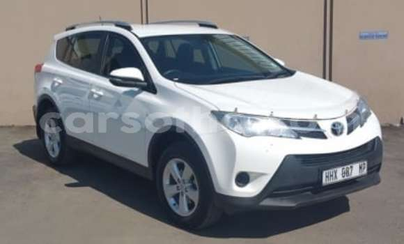 Buy Used Toyota RAV4 White Car in Teyateyaneng in Berea
