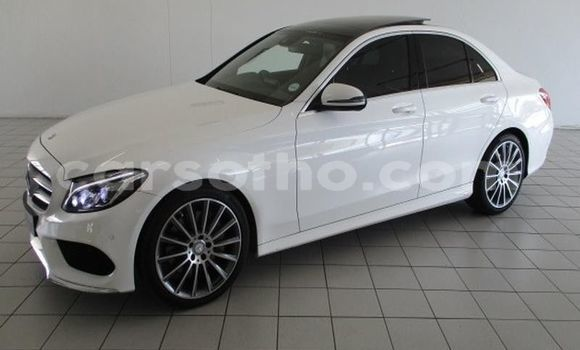 Buy Used Mercedes-Benz C–Class White Car in Butha–Buthe in Thaba-Tseka