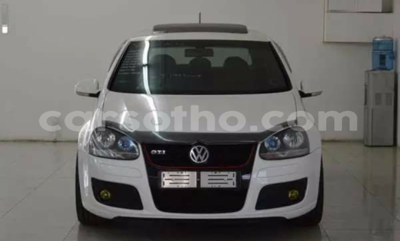 Buy Used Volkswagen Golf GTI White Car in Butha Buthe in Butha-Buthe