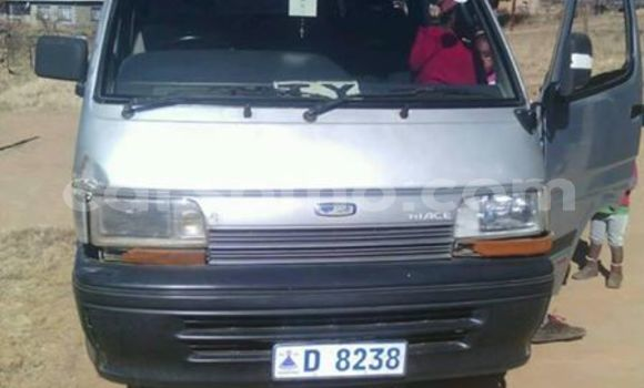 Buy Used Toyota Hiace Silver Car in Maseru in Maseru