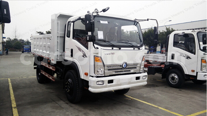 Big with watermark 4x2 mini cdw dump truck camion howo tipper truck price for sale 2
