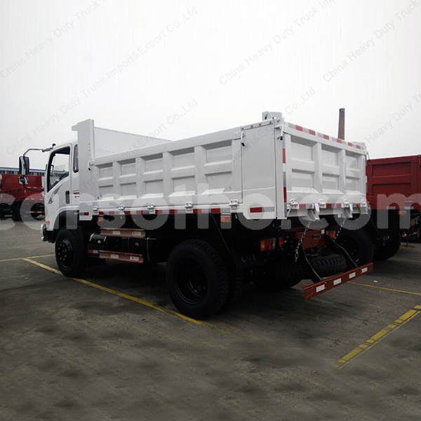 Big with watermark 4x2 mini cdw dump truck camion howo tipper truck price for sale 1
