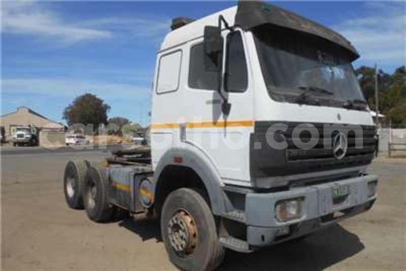 Big with watermark mercedes benz truck tractor double axle mercedes benz powerliner 1997 id 62191727 type main 1